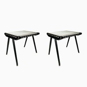 Stools by Georges Tigien for Pradera, 1960s, Set of 2