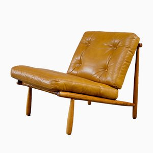 Mid-Century Domus Lounge Chair by Alf Svensson for Dux, 1950s