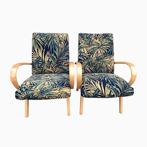 Czech Armchairs by Jaroslav Smidek for TON, 1960s, Set of 2