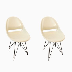 Chairs by Miroslav Navratil for Vertex, 1960s, Set of 2