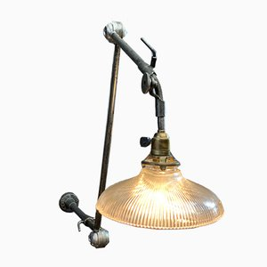 Industrial French Steel Sconce from Tout Sens, 1920s