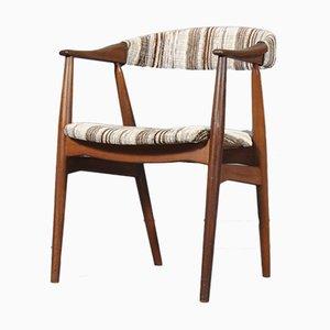 Modell 213 Armlehnstuhl mit Gestell aus Teak von TH Harlev für Farstrup Møbler, 1960er