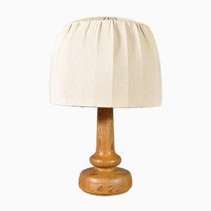 Wood Table Lamp by Hans-Agne Jakobsson for Ab Ellysett, 1960s