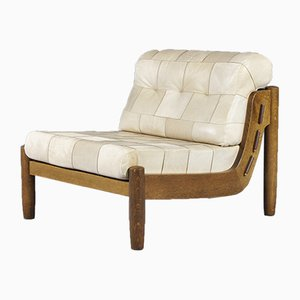 Modular Patchwork Leather Sofa Set, 1970s