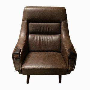 Vintage Sessel mit Gestell aus Palisander von Henry Walter Klein