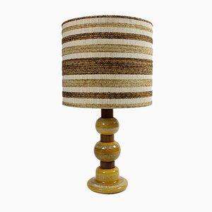 Lampada da tavolo in ceramica di Kaiser Leuchten, anni '60