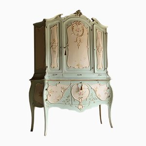Large Antique French Louis XV Cabinet, 1890s