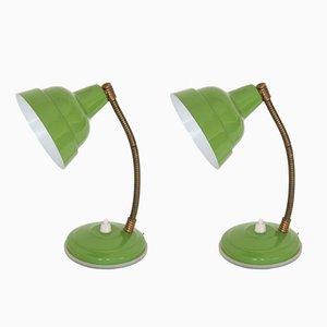 Lampade da comodino, anni '60, set di 2
