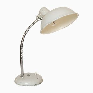 Vintage Industrial Gooseneck Table Lamp, 1950s