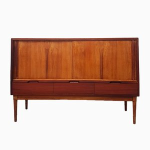 Mid-Century Walnut Credenza by Alfred Cox for Heals, 1950s