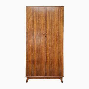 Mid-Century Walnut Wardrobe from Vesper