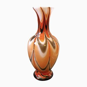 Vase par Carlo Moretti pour Opaline Florence, Italie, 1970s