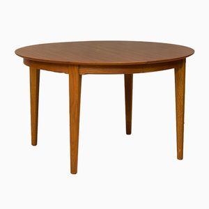 Large Teak Extendable Table by Henning Kjaernulf for Sorø Stolefabrik, 1960s