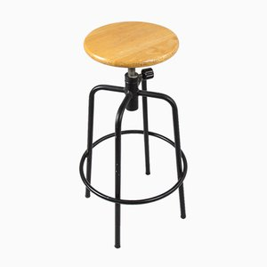 Vintage Industrial Architect's Stool