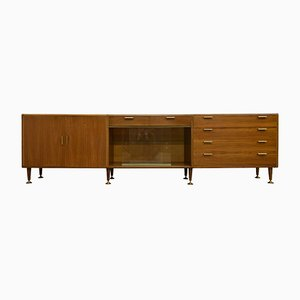 Mid-Century Walnut Sideboard by A. A. Patijn for Zijlstra Joure, 1960s