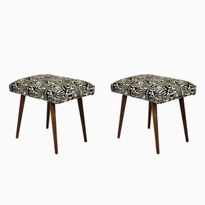 Vintage Transformable Stools, 1950s, Set of 2
