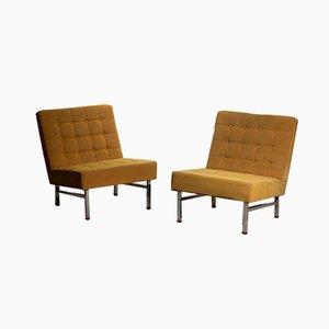 Swedish Lounge Chairs by Karl-Erik Ekselius for JOC Vetlanda, 1960s, Set of 2