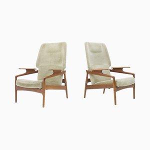 Dänische Sessel von John Boné, 1960er, 2er Set