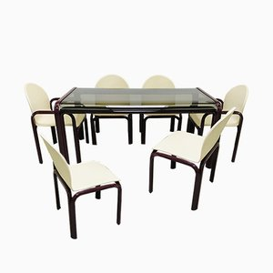 54A Dining Set by Gae Aulenti for Knoll Inc., 1980s