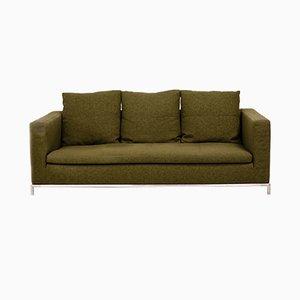 Grünes George 3-Sitzer Sofa von Antonio Citterio für B & B Italia, 2001
