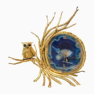 Beleuchtete Vintage Uhr von Isabelle Faure für Honore