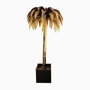 Vintage Palm Tree Floor Lamp from Maison Jansen