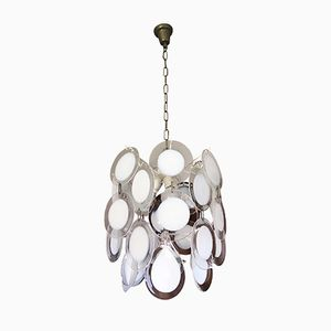 Vintage Suspension Lamp from Vistosi