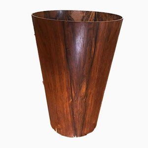 Mid-Century Rosewood Wastebasket by Martin Aberg for Servex