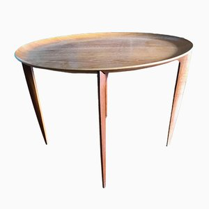 Teak Side Table from Fritz Hansen, 1960s