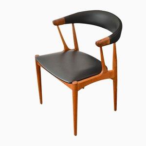 Dänischer Vintage Armlehnstuhl aus Teak von Johannes Andersen, 1960er