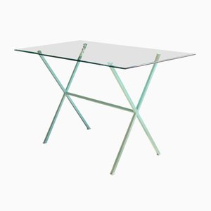 Turquoise Mint Libelle Desk by Dixel