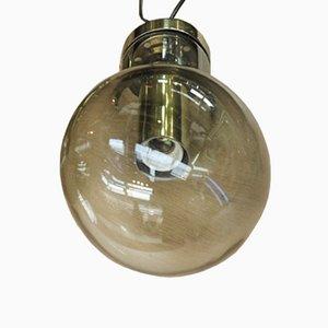 Lámpara colgante vintage en forma de bombilla, años 70