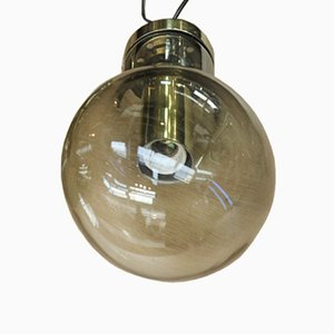 Vintage Bulb Shaped Pendant, 1970s
