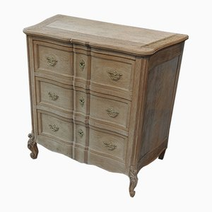 Small Oak Louis XV Style Commode, 1930s