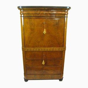 Antique Italian Directoire Period Secretaire, 1840