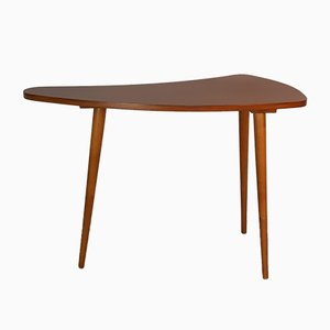 Vintage Czechoslovak Boomerang Beech Side Table from Ledenecky Nabytek, 1960s