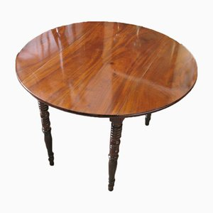 Antique Extendable Mahogany Table