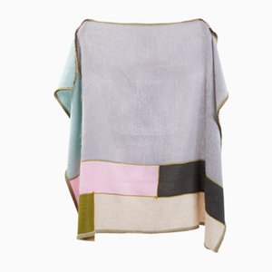 Patchwork Mohair Pastel Throw by Monique van Vessem