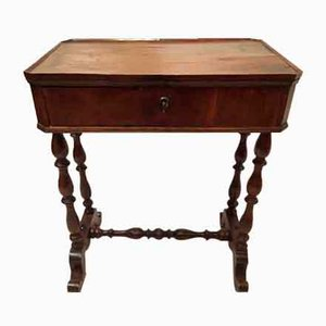 Antique Walnut Table with Drawer