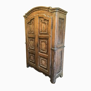 18th-Century Piedmontese Wardrobe with 2 Doors