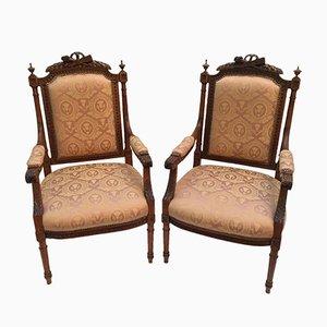 Antike Sessel, 2er Set