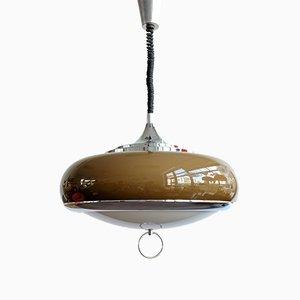 Lámpara colgante era espacial de Guzzini, años 70