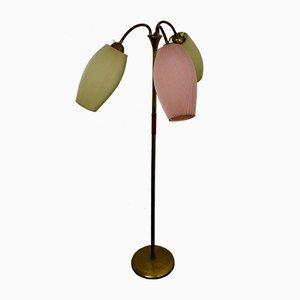 Französische Mid-Century Stehlampe, 1950er