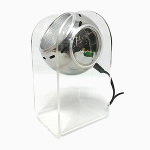 Tischlampe aus Plexiglas von Insta Sensorette, 1989