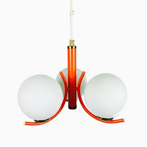 Lustre Orange de Richard Essig, 1970s