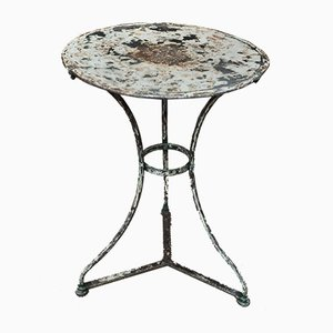 Metal Bistro Table, 1920s