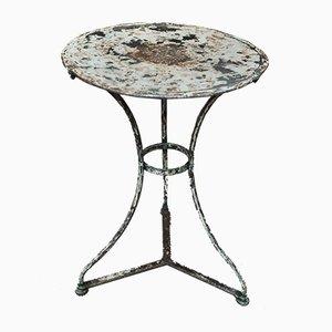 Metal Bistro Table, 1920s