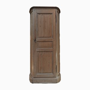 Curved Fir Cabinet, 1900s