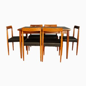 Vintage Dining Room Set from Lubke, 1960s