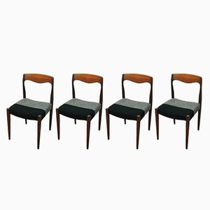 Chaises de Salon Vintage, France, 1960s, Set de 4